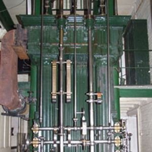 The Maudeslay engine, which began pumping in 1838.