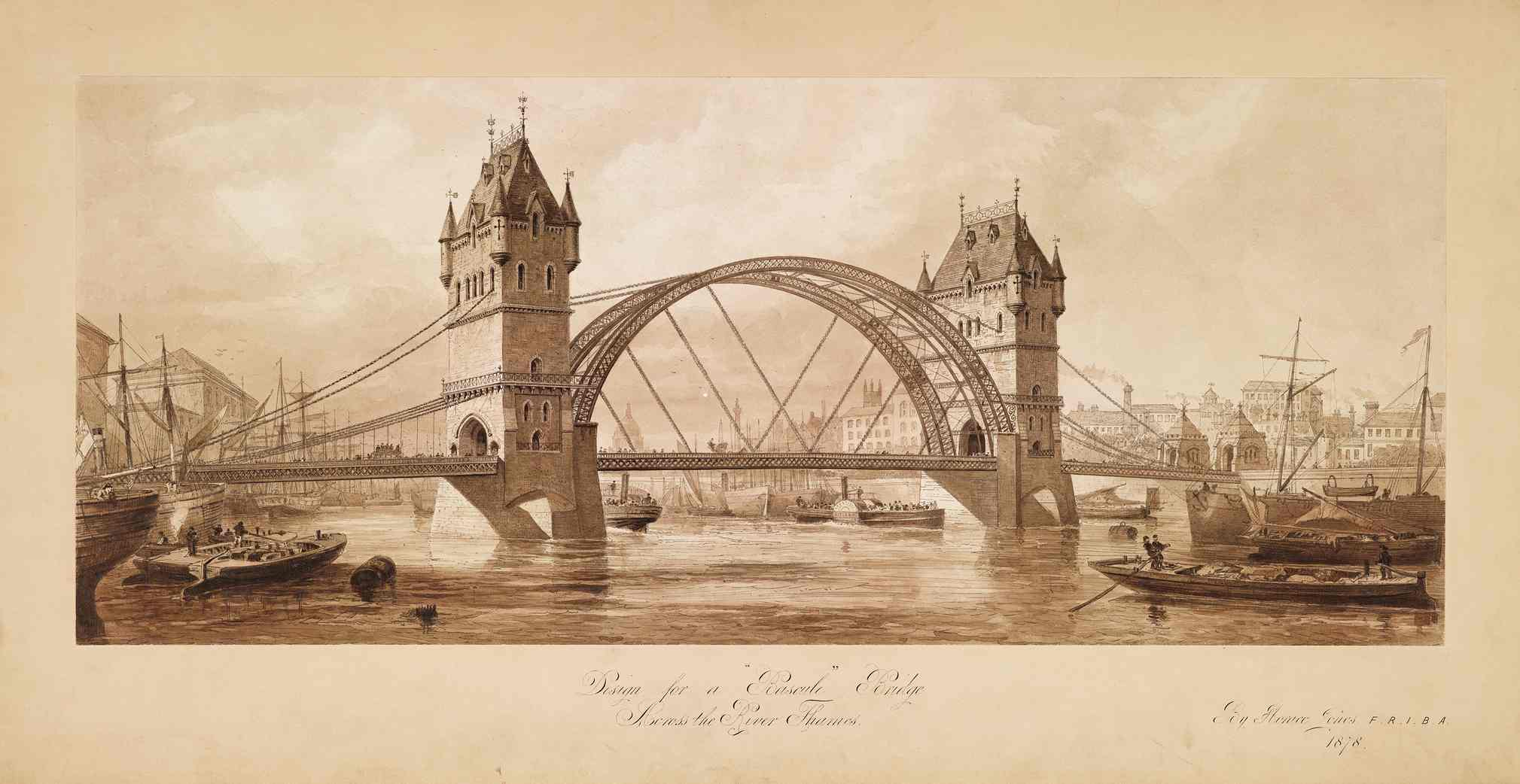 Today s guided tour to tower bridge the port of london for Design bridge london
