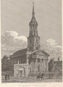 St Leonard's Church, Shoreditch.