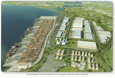 London Gateway 3D visualization