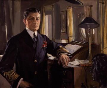 Admiral David Beatty by Sir John Lavery, 1917. Source: Wikipedia.