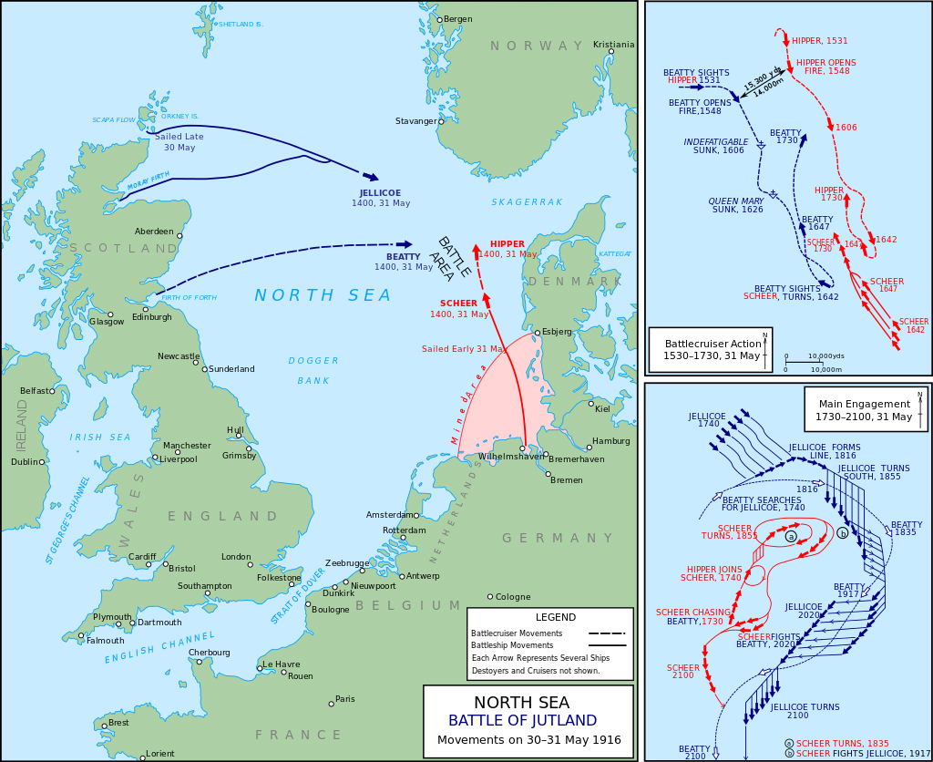 The Battle Of Jutland  Winners And Losers By Roy Fenton