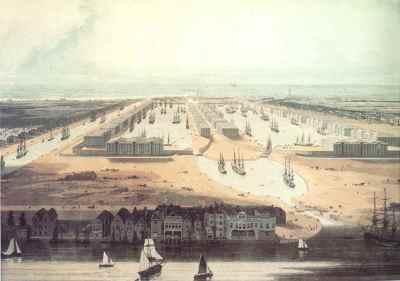 West India Docks 1802