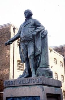 Robert Milligan by Sir Richard Westmacott