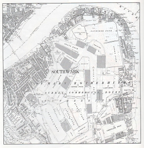 The Surrey Commercial Docks in 1894