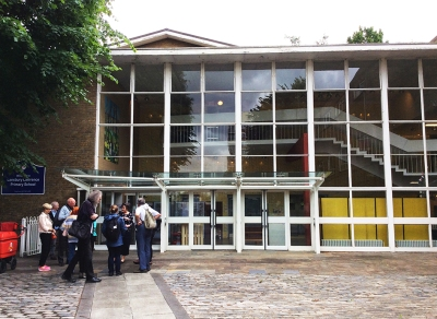 Lansbury Lawrence Primary School. Photograph by Sue Flockton.