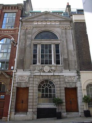 Watermen's Hall (1778-80) by William Blackburn