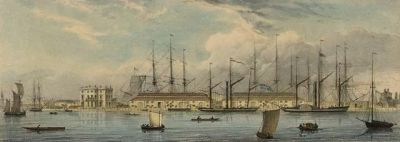 Brunswick Wharf at Blackwall